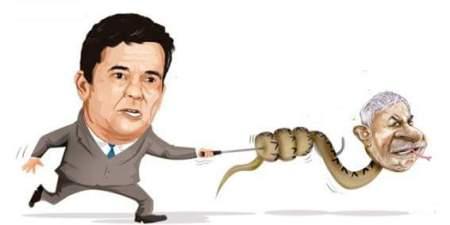 Moro e a cobra